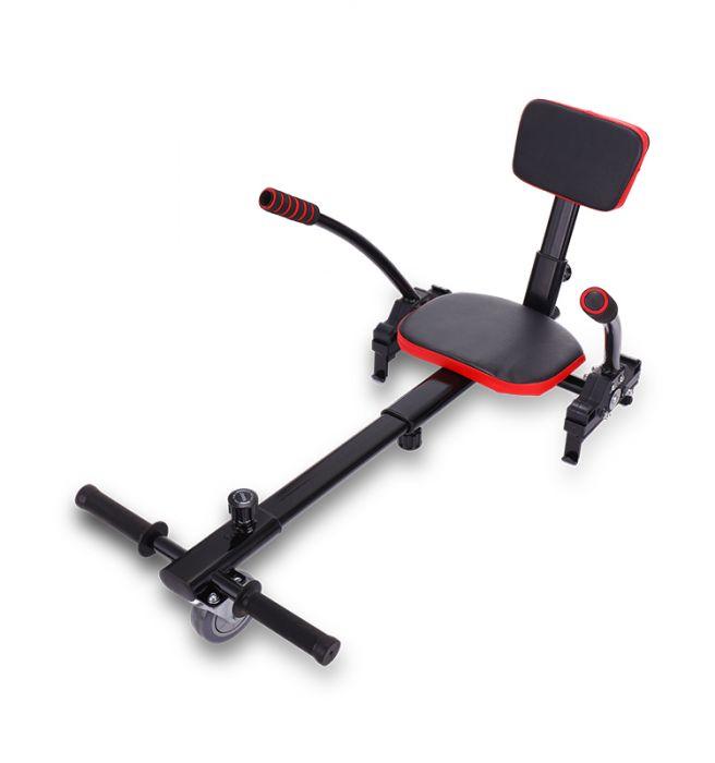 Elektro Go-Kart Kart Sitz Erweiterung f/ür 6 Sitzaufsatz Schalensitz Hoverkart mit Sitz 5-10 Zoll Self Balance Scooter Verstellbarer L/änge 72-93cm