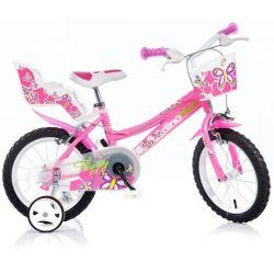 "DINO Bikes - Kids bike 16 ""166R - pink 2017"