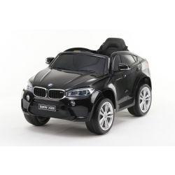 Elektrofahrzeug BMW X6M NEU - Einzelsitz, Schwarz, Originallizenz, Batteriebetrieben, Türen öffnen, Ledersitz, 2x Motor, 12-V-Batterie, 2,4-GHz-Fernbedienung, weiche EVA-Räder, Sanfter Start