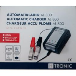 External charger for 12V/6V/2V lead acid battery