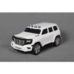 Kinder ziehen lizenziertes Mercedes-Benz Ener-G-Force-Gepäck mit - Weiss, kleine Reisetasche