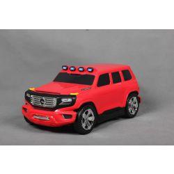 Kinder ziehen lizenziertes Mercedes-Benz Ener-G-Force-Gepäck mit - Rote kleine Reisetasche